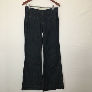 Cabi Dark Wash Wide Leg Jeans